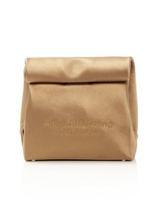 Alexander Wang Satin Lunch Bag Clutch