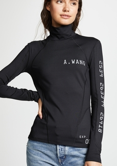 Alexander Wang Scuba Rash Guard Top