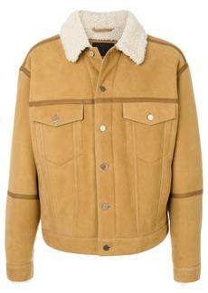 Alexander Wang shearling jacket - Nude & Neutrals