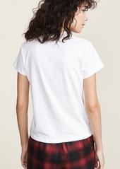 Alexander Wang Short Sleeve T-Shirt with Logo Decal