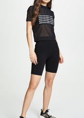 Alexander Wang Short Sleeve Tee with Graphic Front