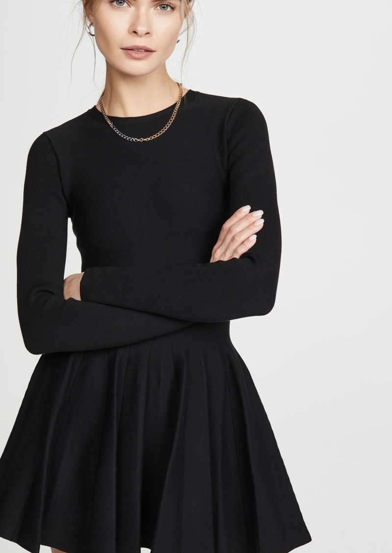 Alexander Wang Shortrowed Long Sleeve Dress