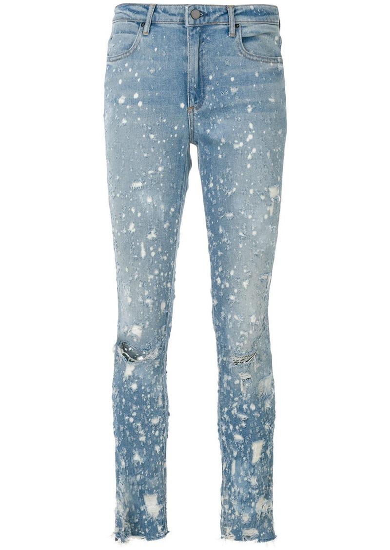 Alexander Wang Whiplash destroyed jeans