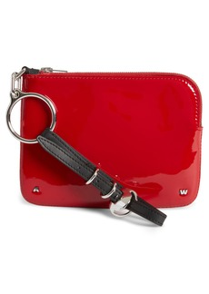 Alexander Wang Small Ace Patent Leather Wristlet