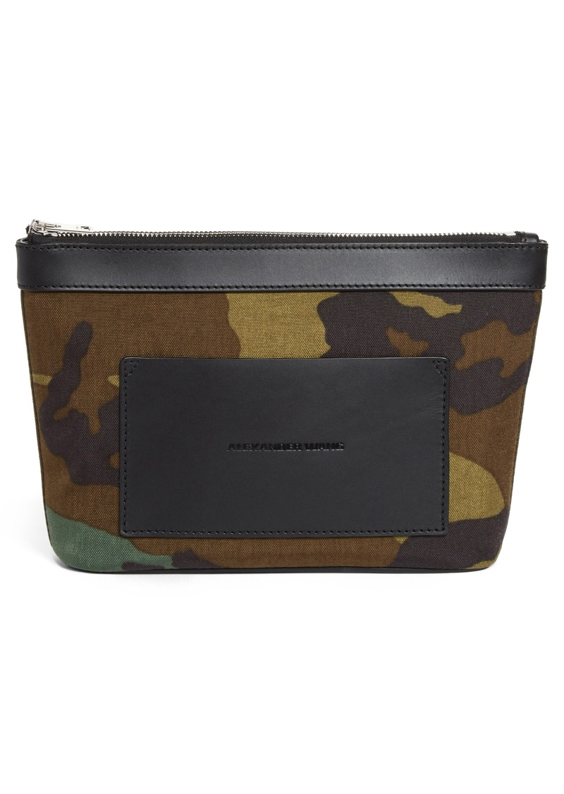 Alexander Wang Small Camo Canvas Pouch
