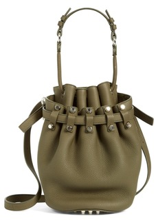 Alexander Wang 'Small Diego - Nickel' Leather Bucket Bag