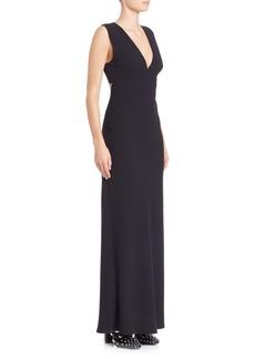 Alexander Wang Solid Sleeveless Maxi Dress