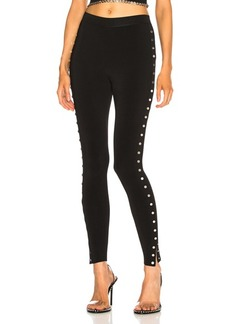 Alexander Wang Split Snap Legging