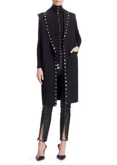 Alexander Wang Splittable Shawl Collar Trench Coat