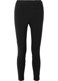 Alexander Wang Stretch-crepe Leggings
