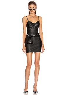 Alexander Wang Stretch Leather Dress