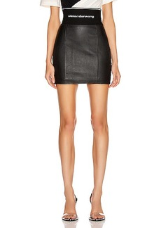 Alexander Wang Stretch Leather Skirt