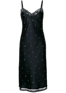 Alexander Wang stud detail slip dress - Black