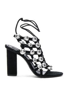 Alexander Wang Suede Rubie Sandals