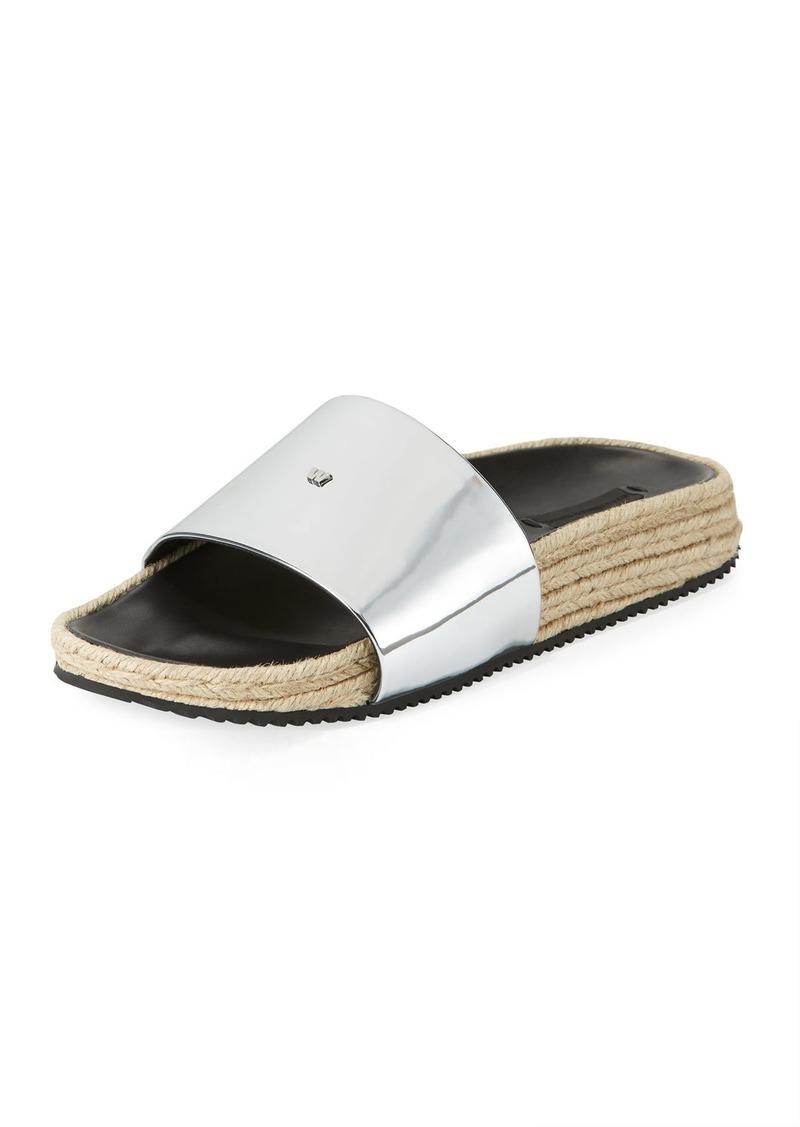 156988e6a7d0 Alexander Wang Suki Espadrille Slide Sandal
