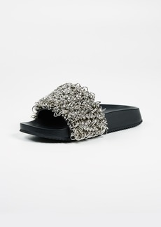 Alexander Wang Suki Ring Slide Sandals