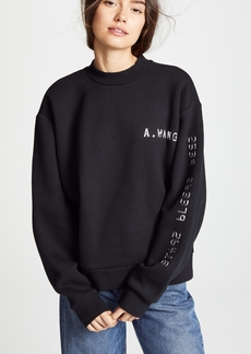 Alexander Wang Sweatshirt With Chrome Decals