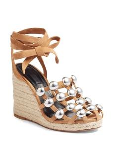 Alexander Wang Taylor Stud Wedge Sandal (Women)