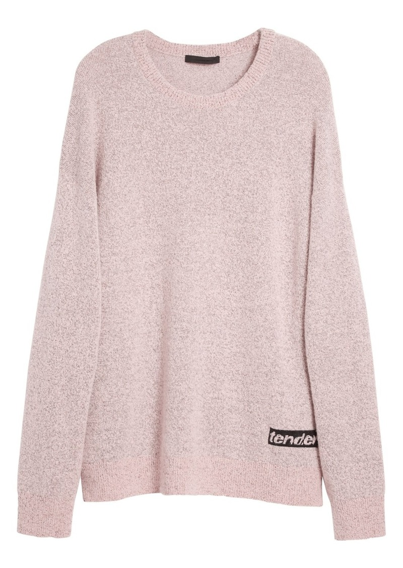 Alexander Wang 'Tender' Embroidered Wool Blend Sweater