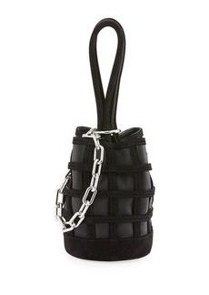 Alexander Wang Three-Way Leather Bucket Bag