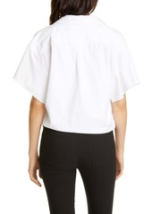 Alexander Wang Tucked Hem Shirt