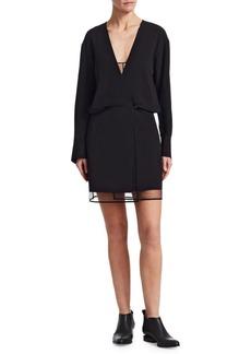 Alexander Wang Tulle Shadow Mini Dress