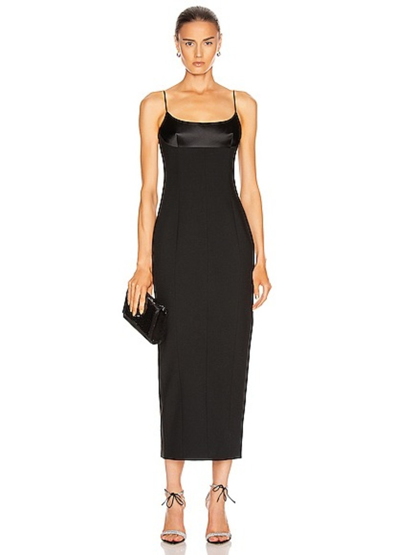 Alexander Wang Tuxedo Cup Evening Dress
