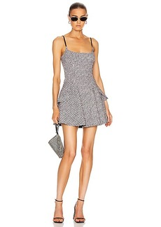 Alexander Wang Tweed Fit and Flare Dress