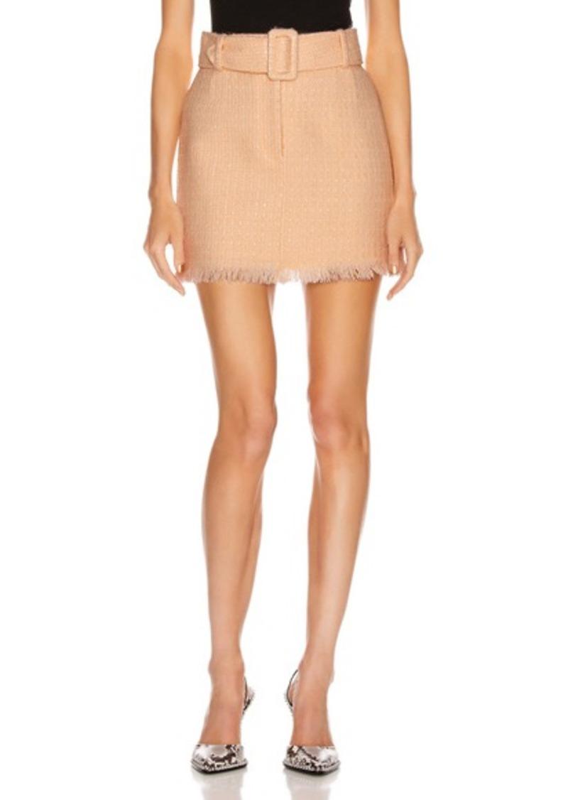 Alexander Wang Tweed Mini Skirt