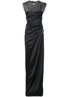 Alexander Wang twisted cup evening dress - Black