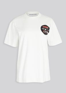 Alexander Wang Unisex T-Shirt with Saw Blade Print