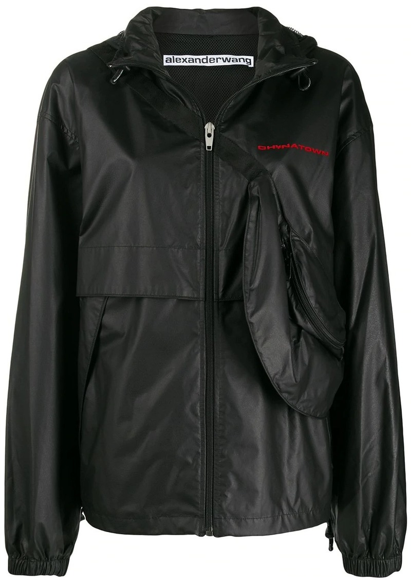 Alexander Wang Chynatown track jacket