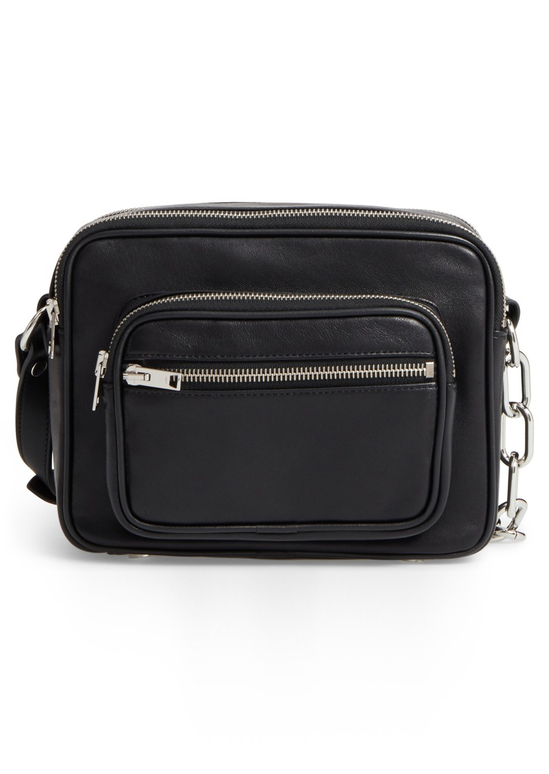 Alexander Washed Leather Crossbody Bag