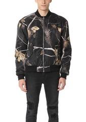 Alexander Wang Winter Camo Nylon Bomber Jacket