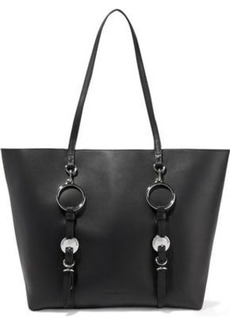 Alexander Wang Woman Ace Embellished Leather Tote Black
