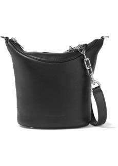 Alexander Wang Woman Ace Leather Shoulder Bag Black
