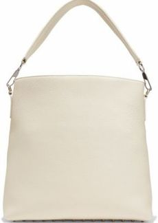 Alexander Wang Woman Darcy Pebbled-leather Tote Cream