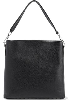 Alexander Wang Woman Darcy Textured-leather Shoulder Bag Black