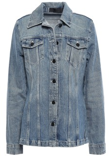 Alexander Wang Woman Denim Jacket Mid Denim