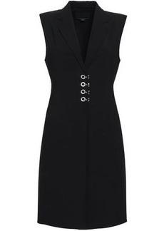 Alexander Wang Woman Eyelet-embellished Wool-blend Vest Black
