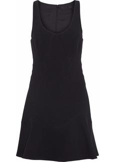Alexander Wang Woman Paneled Crepe Dress Black