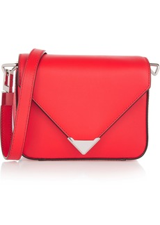 Alexander Wang Woman Prisma Mini Leather Shoulder Bag Red