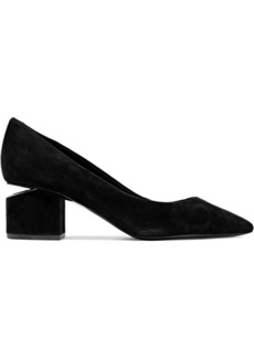 Alexander Wang Woman Simona Suede Pumps Black