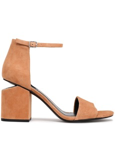 Alexander Wang Woman Suede Sandals Camel