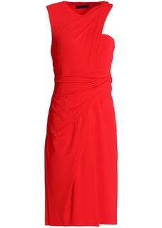 Alexander Wang Woman Wrap-effect Cady Dress Red