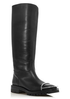 Alexander Wang Women's Bobbie Leather Riding Boots