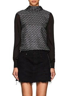 "Alexander Wang Women's ""CEO"" Silk Top"