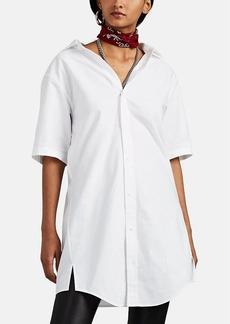 Alexander Wang Women's Chain-Detailed Cotton Oxford Cloth Shirtdress