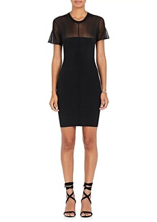 Alexander Wang Women's Compact Knit Fitted Dress