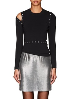 Alexander Wang Women's Convertible Compact Knit Sweater